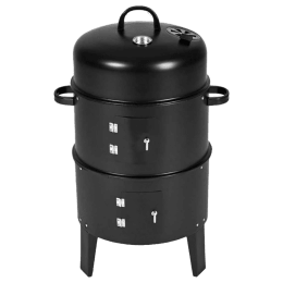 Peng Essentials Charcoal Griller (Built In Thermometer, PNGFL01, Black)_1