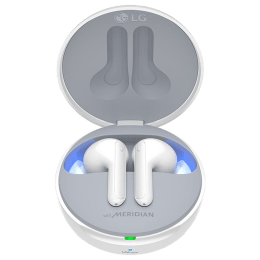LG Tone Free In-Ear Active Noise Cancellation Truly Wireless Earbuds with Mic (Bluetooth 5.0, Meridian Technology, HBS-FN7.ABILWH, White)_1
