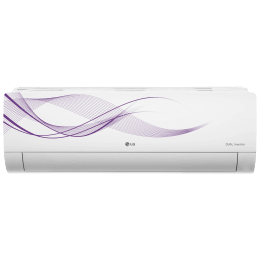 LG 1.5 Ton 5 Star Inverter Split AC (Air Purification Function, Copper Condenser, MS-Q18WNZA, White)_1