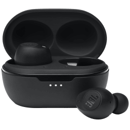 JBL Tune In-Ear Truly Wireless Earbuds with Mic (Bluetooth 5.0, Voice Assistant, T115 TWS, Black)_1