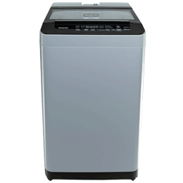 Panasonic 7.5 kg 5 Star Fully Automatic Top Load Washing Machine (Aqua Spin Rinse, NA-F75L9MRB, Middle Free Silver)_1