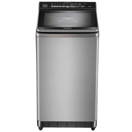 Panasonic 8 kg 5 Star Fully Automatic Top Load Washing Machine (Aqua Spin Rinse, NA-F80V9SRB, Stainless Steel)_1