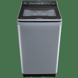 Panasonic 8 kg 5 Star Fully Automatic Top Load Washing Machine (Aqua Spin Rinse, NA-F80V9LRB, Grey)_1