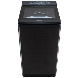Panasonic 8 kg 5 Star Fully Automatic Top Load Washing Machine (Aqua Spin Rinse, NA-F80X9BRB, Black)_1