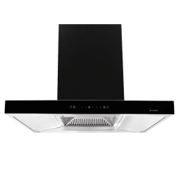 Faber Jupiter HC SC BK 90 1350 m³/hr 90cm Wall Mount Chimney (Baffle Filter, 320.0574.007, Black)_1