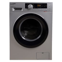 Lloyd SX 6Kg Fully Automatic Front Load Washing Machine (GLWMF60SX1, Silver)_1
