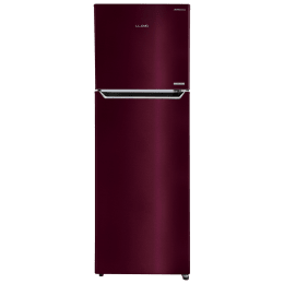 Lloyd Frost Free 310 Litres 2 Star Frost Free Inverter Technology Double Door Refrigerator (GLFF312AMWT1PB, Metallic Wine)_1