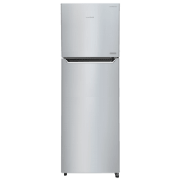 Lloyd Frost Free 340 Litres 2 Star Frost Free Inverter Technology Double Door Refrigerator (GLFF342AHGT1PB, Hairline Grey)_1