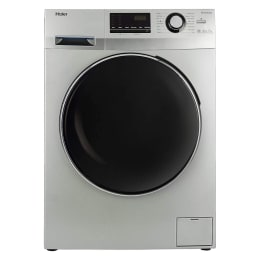 Haier 7 kg Fully Automatic Front Loading Washing Machine (HW70-IM12636TNZP, Titanium Grey)_1