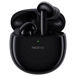 Realme Buds Air Pro In-Ear Active Noise Cancellation True Wireless Stereo Earbuds with Mic (Bluetooth 5.0, Dual-channel Transmission, RMA210, Black) _1