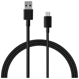 Xiaomi Mi 1 Meter USB 2.0 (Type-A) to USB 3.0 (Type-C) Power/Charging USB Cable (Fast Charging Compatible, BHR4221IN, Black)_1