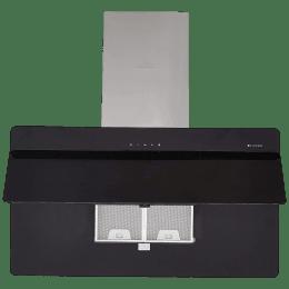 Faber Cocktail 3D 1095m³/hr 90cm Wall Mount Chimney (Cassette Filter, 3D T2S2 BKTC LTW 90, Black)_1