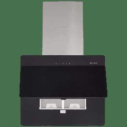 Faber Cocktail 3D 1095m³/hr 60cm Wall Mount Chimney (Cassette Filter, 3D T2S2 BKTC LTW 60, Black)_1