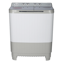 Lloyd HT 8.5Kg 5 Star Semi-Automatic Top Load Washing Machine (GLWMS85HT1, Grey)_1