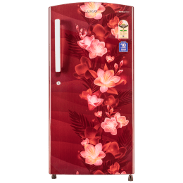 Lloyd Direct Cool 225 Litres 2 Star Manual Single Door Refrigerator (GLDC242SGWT2PB, Gardenia Wine)_1