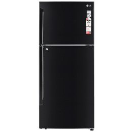 LG 437 Litres 2 Star Frost Free Inverter Double Door Refrigerator (Convertible Plus, GL-T432AESY.DESZEB, Ebony Sheen)_1