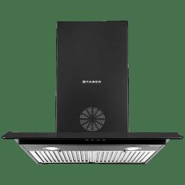 Faber Arco 3D Plus 1150 m³/hr 60cm Wall Mount Chimney (Baffle Filter, T2S2 BK LTW 60, Black)_1