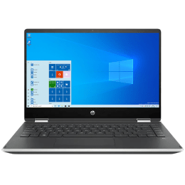 HP Pavilion X360 14-dh1181TU (299S7PA#ACJ) Core i3 10th Gen Windows 10 Home 2-in-1 Laptop (8GB RAM, 256GB SSD, Intel UHD 620 Graphics, MS Office, 35.56cm, Natural Silver)_1