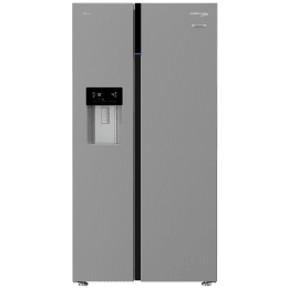 Voltas Beko 634 Litres Frost Free ProSmart Inverter Side-by-Side Refrigerator (Neo Frost Dual Cooling, RSB655XPRF, Inox)_1
