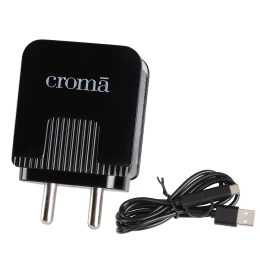 Croma Quick Charge 1.0 Wall Charger (CRCA2301, White)_1