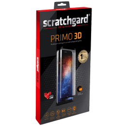 Scratchgard Primo 3D Tempered Glass Screen Protector For Samsung Galaxy S21 (5X Shatter Protection, SM-G991, Transparent with Black Border)_1