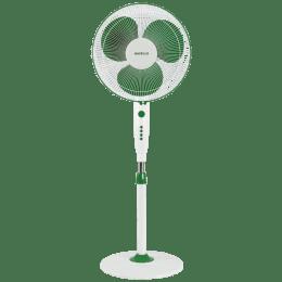 Havells Trendy 40cm Sweep 3 Blade Pedestal Fan (Double Ball Bearing, FHSTRNSGRW16, Green White)_1