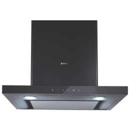 Elica Spot H4 EDS HE LTW 60 Nero T4V LED 1010 m³/hr 60cm Wall Mount Chimney (Touch Control, Black)_1
