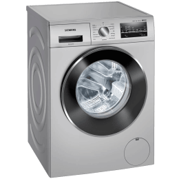 Siemens iQ500 8 kg 5 Star Fully Automatic Front Load Washing Machine (WaterPerfect Plus Technology, WM14J46SIN, Platinum Silver)_1