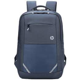 HP Lightweight 400 22 Litres 600D Gucci Polyester and 200D Dobby Polyester Backpack for 15.6 Inch Laptop (Pass-Through Cable Port, 1B3M7AA, Grey)_1