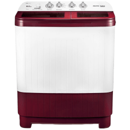 Voltas Beko 8.5 kg 5 Star Semi-Automatic Top Load Washing Machine (Special Pulsator Technology, WTT85DBRG, Burgundy)_1