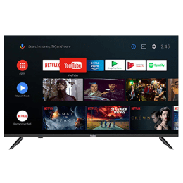 Haier K6600 Series 109cm (43 Inch) Ultra HD 4K LED Android Smart TV (2 Years Warranty, AI Smart Voice, 43K6600UGA, Black)_1
