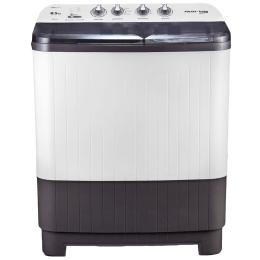 Voltas Beko 8.5 kg 5 Star Semi-Automatic Top Load Washing Machine (Special Pulsator Technology, WTT85DGRT, Grey)_1