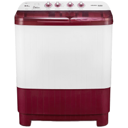 Voltas Beko 8.5 kg 5 Star Semi-Automatic Top Load Washing Machine (Special Pulsator Technology, WTT85DBRT, Burgundy)_1