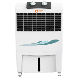 Orient Smartcool DX 16 Litres Personal Air Cooler (DenseNest Honeycomb Cooling Pads, CP1601H, White)_1