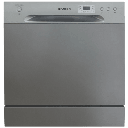 Faber 8 Place Setting Counter Top Dishwasher (Self Clean Filter System, FFSD 6PR 8S Ace, Inox)_1