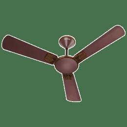 Havells Enticer Art 120cm Sweep 3 Blade Ceiling Fan (Inverter Compatible, FHCENSTEBR48, Espresso Brown)_1