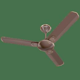 Havells Carnesia 120cm Sweep 3 Blade Ceiling Fan (Inverter Compatible, FHCCNSTDLC48, Dusk-LT Copper)_1