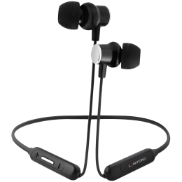 Lumiford XploriaHD In-Ear Wireless Earphone with Mic (Bluetooth 5.0, Magnetic Function, XP70, Black)_1