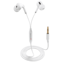 Lumiford Ultimate In-Ear Wired Earphone with Mic (Hands Free Calling Mic, U50, White)_1