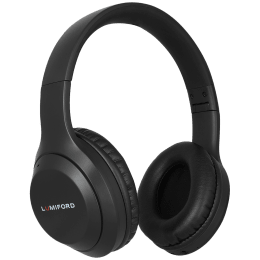 Lumiford LongDriveHD Over-Ear Wireless Headphone with Mic (Bluetooth 5.0, Dual Phone Pairing Technology, HD50, Black)_1