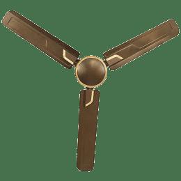Usha Airostrong 120cm Sweep 3 Blade Ceiling Fan (Double Ball Bearing, 111045196W, Metallic Luxon Gold)_1