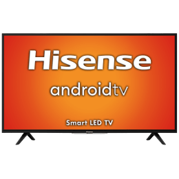 Hisense A56 Series 80cm (32 Inch) HD Ready LED Android Smart TV (1 Year Warranty, Built-in Chromecast, 32A56E, Black)_1