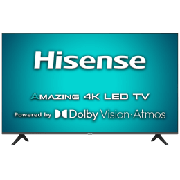 Hisense A71 Series 108cm (43 Inch) Ultra HD 4K LED Android Smart TV (3 Years Warranty, Built-in Chromecast, 43A71F, Black)_1