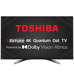 Toshiba U8080 Series 164cm (65 Inch) Ultra HD 4K LED Smart TV (3 Years Warranty, Screen Mirroring, 65U8080, Black)_1