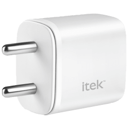 Itek 20 Watts/2.1 Amps 2-Port USB Wall Charging Adapter (Fast Charging Capability, 20wQCPD, White)_1