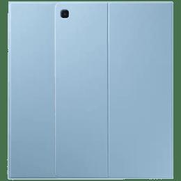 Samsung Polycarbonate, Polyurethane Smart Folio Case For Galaxy Tab S6 Lite (Compartment For S Pen, EF-BP610PLEGIN, Blue)_1