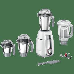 Bosch TrueMixx Style 750 Watts 4 Jars Mixer Grinder (Stone Pounding Technology, MGM6642WIN, White)_1