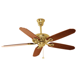Usha Hunter Savoy 132cm Sweep 5 Blade Ceiling Fan (Inverter Compatibility, 111054229H, Antique Brass)_1