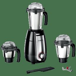 Bosch TrueMixx Pro 750 Watts 3 Jars Mixer Grinder (Stone Pounding Technology, MGM6632MIN, Black)_1