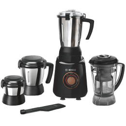 Bosch TrueMixx Bold 750 Watts 4 Jars Mixer Grinder (Stone Pounding Technology, MGM6644BIN, Black)_1